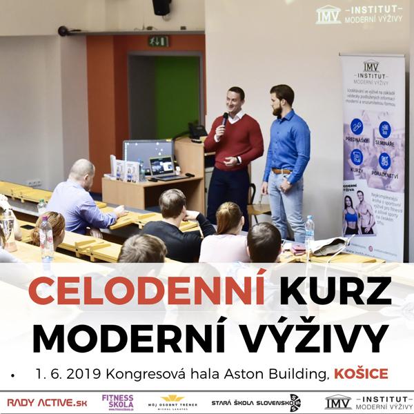 První kurz Moderní Výživy od Institutu Moderní Výživy na Slovensku v Košicích