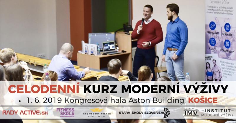 Košice – Kurz Moderní Výživy / IMV
