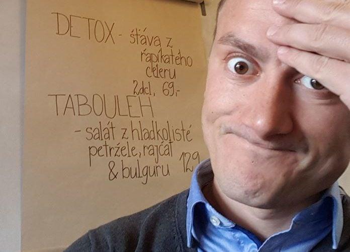 Pití šťávy z řapíkatého celeru jako detox?