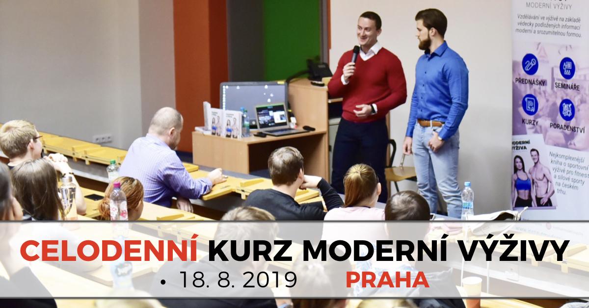 Celodenní kurz Moderní výživy v Brně