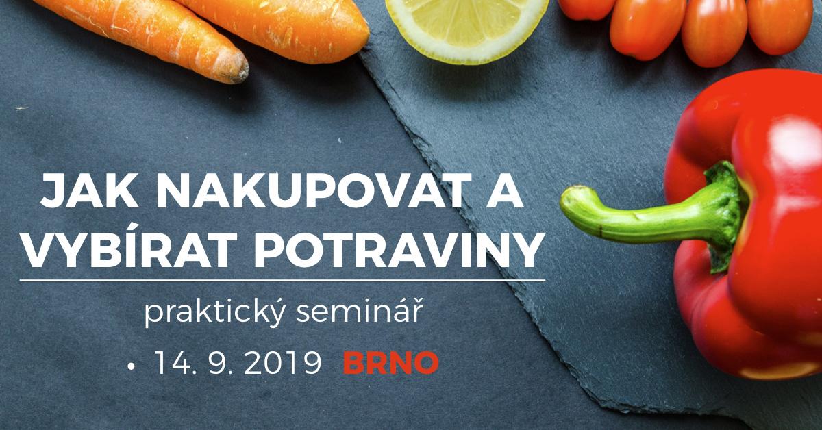 Jak nakupovat a vybírat potraviny - praktický seminář