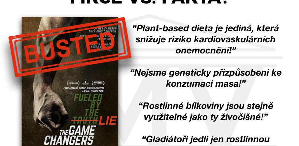 Dokument The Game Changers - fikce vs. FAKTA