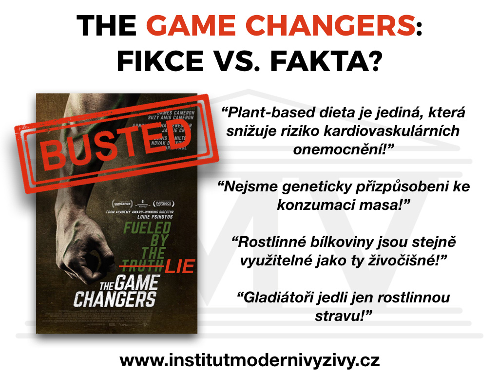 Dokument The Game Changers - fikce vs. FAKTA